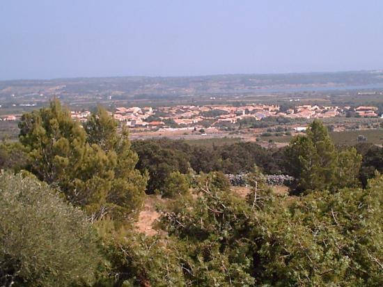 Vue du village de la Capitelle