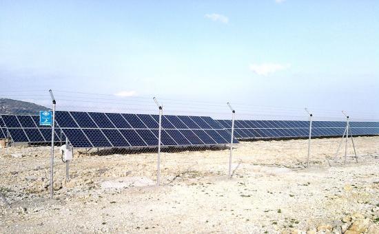 Champs photovoltaïque