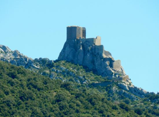 château queribus